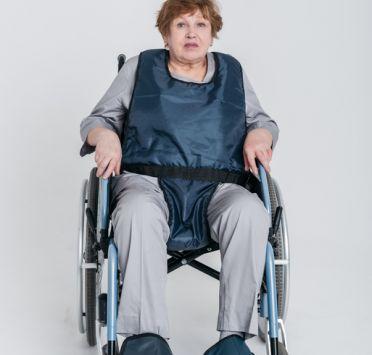 Фиксатор стопы для инвалидного кресла. Изображение №1