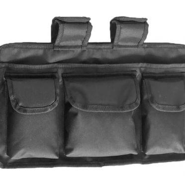 Навесная сумка для инвалидного кресла объёмная. Изображение №1