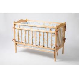 Комплект матрасов и мягких бортиков для детской кроватки
