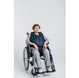 Составной фиксирующий жилет для инвалидного кресла
