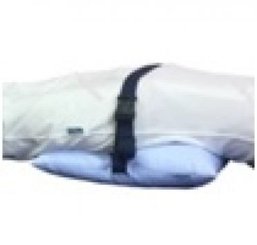 Подушка противопролежневая с п/э волокном, на фастексе, тк. Бязь 400х400 мм. Изображение №1