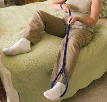 Приспособление для перемещения ноги. Изображение №1