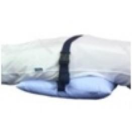 Подушка противопролежневая с п/э волокном, на фастексе, тк. Бязь 400х400 мм